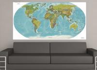 Mapa Mundi 2 Colorido - Mapa Mundi