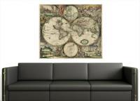 Mapa Mundi De 1689 - Mapa Mundi