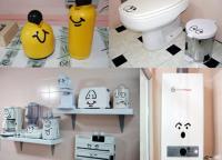 Kit Olhobocas 2 - Cozinha E Banheiro