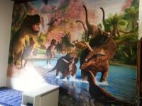 Dinossauros Impressao - Paineis Foscos (anti Reflexo)