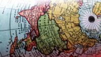 Mapa Terra Plana Adesivo (gibsons 1892) - Mapa Mundi