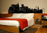 Big Apple (new York) - Cabeceira Cama Box
