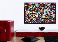 Keith Haring 6 - Pop Art . Comic . Retro . Cult