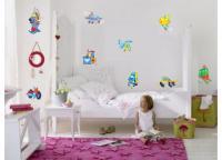 Adesivos De Transporte 3 - Infantil