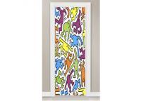 Porta Popart Door (keith Haring) - Portas E Janelas