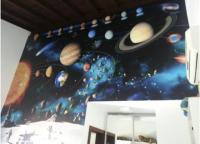 Planetas Da Via Lactea Impressao - Paineis Foscos (anti Reflexo)