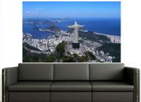 Adesivo Cristo Redentor Rio De Janeiro - Pontos Turisticos