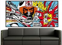 Adesivo Pop Art 2 (roy Lichtenstein) Star Wars - Pop Art . Comic . Retro . Cult