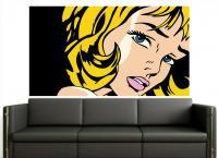 Adesivo Pop Art 3 (roy Lichtenstein) - Pop Art . Comic . Retro . Cult