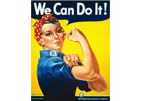 We Can Do It (cartaz) - Pop Art . Comic . Retro . Cult