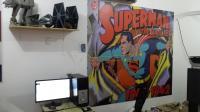 Superman 1 - Pop Art . Comic . Retro . Cult