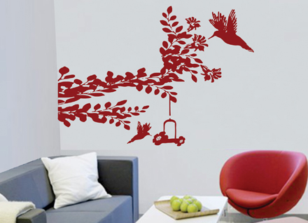 Adesivo de Parede Árvore Para Você Se Inspirar