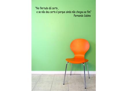 Adesivo De Parede Frase Fernando Sabino 3 Cole Decore