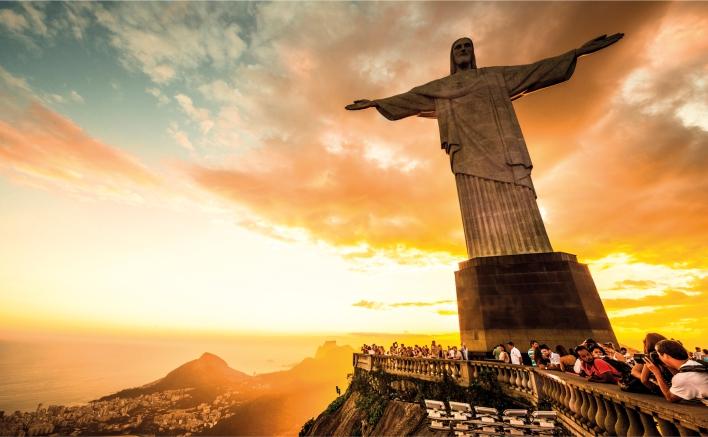 Artesanato Com Feltro Para Vender ~ Adesivo de Parede Cristo Redentor Rio de janeiro Cole Decore
