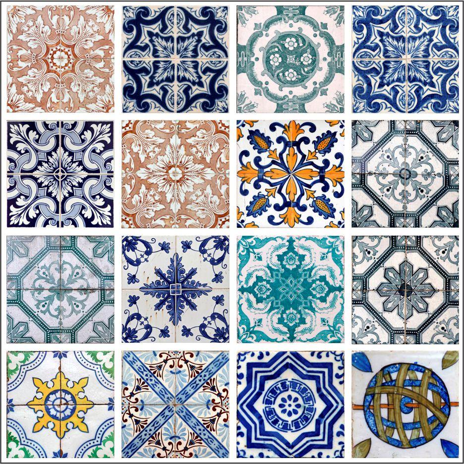 Kit adesivo de azulejo mosaico lusitano cole decore for Azulejo mosaico