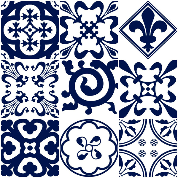 Kit adesivo de azulejo portugal cole decore - Azulejos portugueses comprar ...