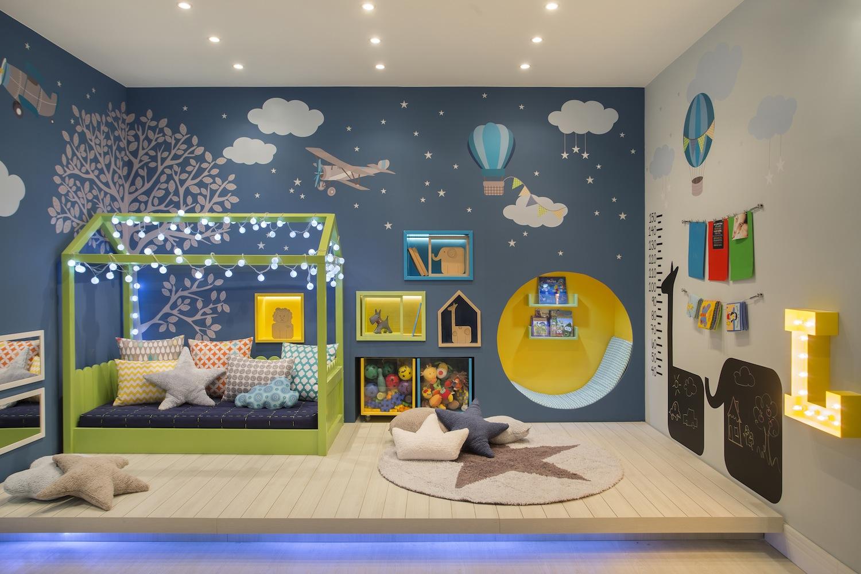 Adesivo De Parede Infantil Super Criativo Cole Decore ~ Desenhos Para Quarto Infantil E Foto De Quarto De Menino